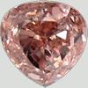Fancy Brownish orange pink Diamonds